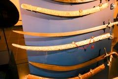 Alte Antiquitäten der arabischen Klingen - Scharjah-Museum Lizenzfreies Stockfoto