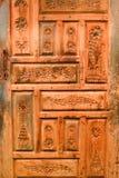 Alte Antiquitäten der arabischen Tür - Scharjah-Museum Lizenzfreie Stockbilder