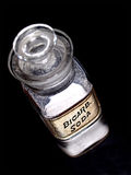 Alte Apotheke Bicarb Soda-Flasche Lizenzfreie Stockfotografie
