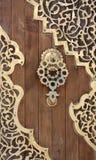 Alte Arabeske-Tür, der Libanon Lizenzfreie Stockfotos
