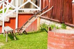 Alte Arbeitsgeräte Stockfotografie