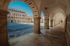 Alte Architektur in Badajoz lizenzfreie stockfotografie