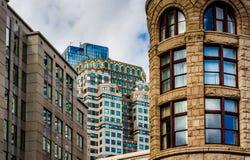 Alte Architektur in Boston, Massachusetts Stockfotografie