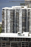 Alte Architektur Brickell Miami FL Lizenzfreie Stockbilder