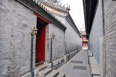 Alte Architektur Chinas im Hinterhof Lizenzfreie Stockbilder