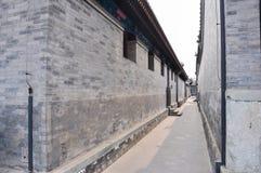 Alte Architektur Chinas im Hinterhof Stockbild