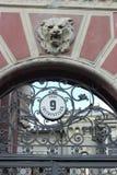 Alte Architektur in der venetianischen Art Stockbilder