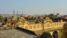 Alte Architektur in Jaipur, Indien Lizenzfreies Stockbild