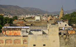 Alte Architektur in Jaipur, Indien Stockbilder