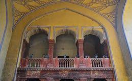 Alte Architektur in Jaipur, Indien Lizenzfreies Stockfoto