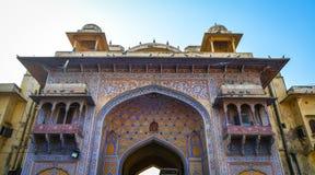 Alte Architektur in Jaipur, Indien Lizenzfreie Stockbilder