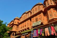 Alte Architektur in Jaipur, Indien Lizenzfreie Stockfotografie