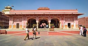 Alte Architektur in Jaipur, Indien Stockfotografie
