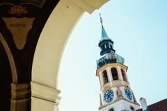 Alte Architektur Loreto Pragues in der Tschechischen Republik Stockfoto