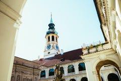 Alte Architektur Loreto Pragues in der Tschechischen Republik Stockfotos