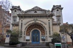 Alte Architektur in Rennes, Frankreich lizenzfreie stockfotografie