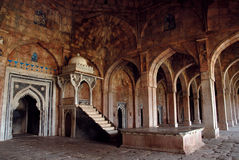 Alte Architektur von Indien Lizenzfreies Stockfoto