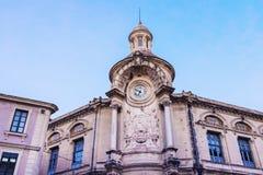 Alte Architektur von Nimes Lizenzfreie Stockfotografie
