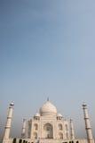 Alte Architektur von Taj Mahal Lizenzfreie Stockfotografie