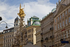 Alte Architektur in Wien Stockfotografie