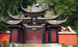Alte Architekturgebäude in Dujiang stauen sicuan Chengdu Lizenzfreie Stockfotos