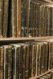 Alte archivalische Bücher von 19 Jahrhunderten Stockfoto