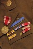 Alte Armee-Abzeichen Lizenzfreies Stockbild