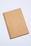 Alte Art der Abdeckung bereiten braunes Buch auf Stockfotos