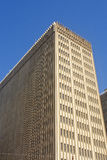 Alte Artbrown-Bürohaus Lizenzfreies Stockbild