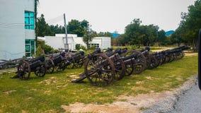 Alte Artillerie Stockfotografie