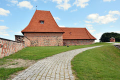 Alte Artillerie Bastion Stockbild