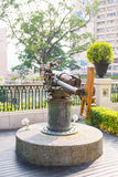 Alte Artillerie bei Erbmarkstein 1881 von Hong Kong Lizenzfreie Stockfotografie