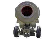 Alte Artilleriekanone Lizenzfreies Stockbild