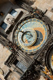 Alte astronomische Borduhr in Prag Lizenzfreies Stockfoto