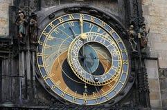 Alte astronomische Uhr Prags mit apostels Stockfoto