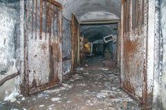 Alte aufgegebene Grube Stockbilder