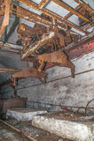 Alte aufgegebene Grube Stockfotografie
