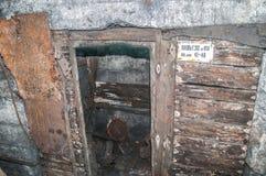 Alte aufgegebene Grube Lizenzfreies Stockfoto
