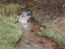Alte aufgegliederte Bergwerkwasserquelle in Leadville Co Lizenzfreies Stockbild