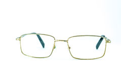 Alte Augen-Gläser lokalisiert Stockfotografie