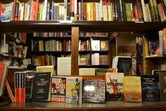 Alte aus zweiter Hand Buchhandlung Lizenzfreies Stockfoto