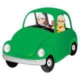 Alte Auto-Paare Lizenzfreie Stockfotos