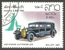 Alte Automobile, Stimmzettel stockfotografie