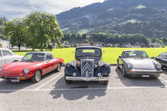 Alte Autos Lizenzfreies Stockfoto