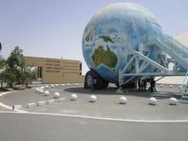 Alte Autos am Automuseum in Abu Dhabi stockbild