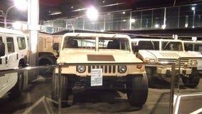 Alte Autos am Automuseum in Abu Dhabi Stockbilder