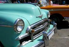 Alte Autos in Havana, Kuba Stockbild
