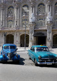 Alte Autos in Havana, Kuba Lizenzfreie Stockbilder