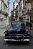 Alte Autos in Havana, Kuba Lizenzfreie Stockfotografie