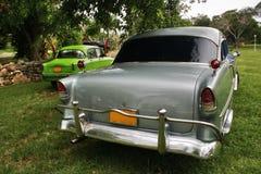 Alte Autos im Park von Varadero Stockfotografie